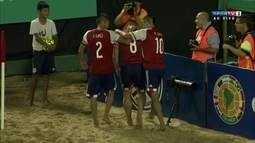 Os gols de Paraguai 5 x 3 Equador nas Eliminatórias da Copa do Mundo de futebol de areia