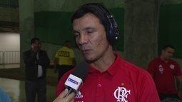 """Zé Ricardo: """"Fiquei feliz com rendimento da equipe e com os jogadores que podem ajudar"""""""