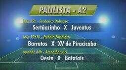 Confira os horários dos jogos dos times da região no Campeonato Paulista