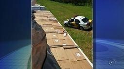Polícia apreende milhares de maços de cigarros contrabandeados