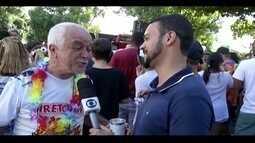 Carnaval antecipado em Governador Valadares é animado pelo 'Bloco Trupico do Lalá'