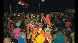 Os desfiles dos bois de máscara animaram o carnval de São Caetano de Odivelas