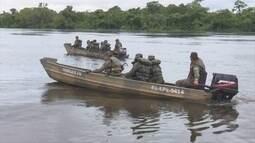 Exército fiscaliza região de fronteira com Bolívia na Zona da Mata