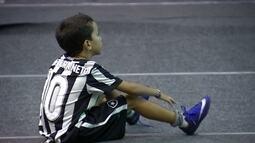 Jair Ventura Neto vibra com classificação do Botafogo na Libertadores