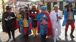 Carnaval de Maragojipe é inspirado em festa de Veneza