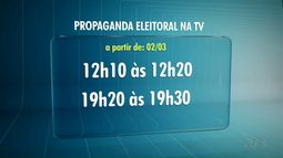 Propaganda eleitoral na TV começa semana que vem