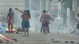 Ação da Polícia Militar na Cracolândia termina em confronto