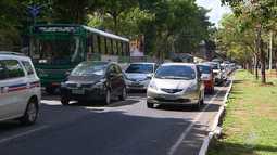 Salvador tem trânsito lento em vários pontos, por causa do carnaval