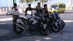 Começou hoje esquema especial de segurança do Carnaval
