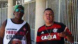 MCs G3 e Charles fazem duelo de rap e cantam a paz entre torcidas de Flamengo e Vasco