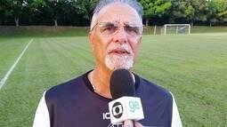 Técnico do Rio Branco-ES elogia atuação dos laterais após vitória em jogo-treino
