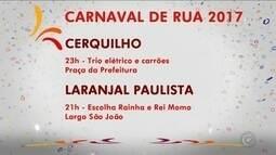 Cerquilho, Laranjal Paulista e outras cidades têm programação de carnaval; confira