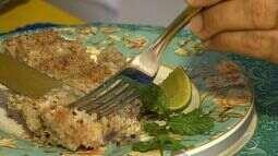 Aprenda a fazer um quibe de peixe