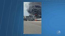 Incêndio assusta passageiros e funcionários no aeroporto de Salvador