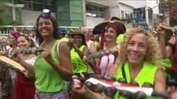 Bloco do Barbas, campeão de público em Botafogo, Zona Sul do Rio, nasceu em um bar