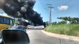 PM dispersa grupo após protesto no Rio Vermelho, em Florianópolis