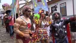 Blocos de carnaval tomam conta das ladeiras de Ouro Preto