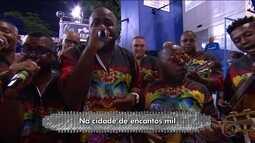 Confira o samba enredo da Porto da Pedra, que fala sobre as marchinhas de Carnaval