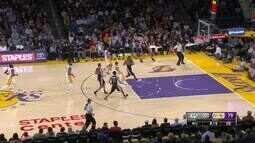 Melhores momentos: San Antonio Spurs 119 x 98 Los Angeles Lakers pela NBA