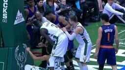 Melhores momentos: Phoenix Suns 96 x 100 Milwaukee Bucks pela NBA