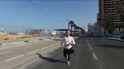 Carla Gomes fala sobre o crescimento a participação de mulheres na meia maratona