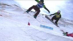 Isabel Clark fica em quarto lugar em sua bateria no Mundial de Snowboard na Espanha