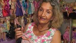 A ex-diarista que sonhou a vida toda em ganhar uma boneca