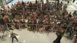 Espetáculo João e Maria é encenado em shopping de Boa Vista