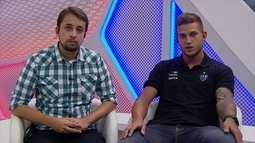Rafael Moura fala sobre chances no Atlético-MG