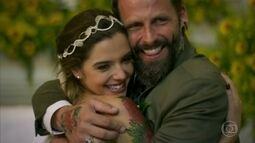 Ralf e Milena se casam