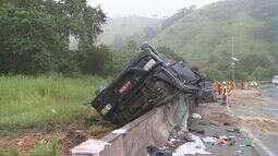 Motorista morre em acidente na rodovia Régis Bittencourt