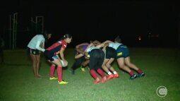 Meninas do Delta Rugby se prepara para mais uma competição nacional