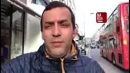 Morador de Londres mostra o clima em bairro próximo ao local onde aconteceu incidente