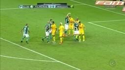 Mirassol perde para o Palmeiras pelo Paulistão