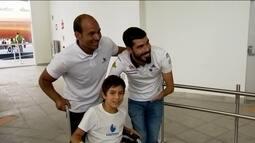 Entrevista com Daniel Dias, dono de 14 ouros em Paralimpíadas, visita o Parapan de jovens