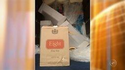 Caminhão com carga de cigarros contrabandeados é apreendido em Itu