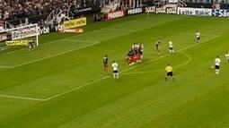 Veja os lances do jogo do Corinthians contra o RB Brasil