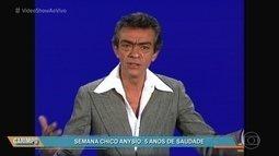 Chico Anysio mistura humor e emoção em monólogo exibido em 1977