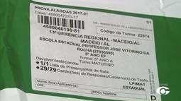 Mais de 95 mil alunos da rede pública de ensino vão fazer a Prova Alagoas