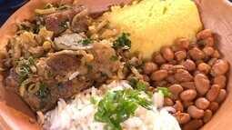 Moradores de Belo Vale ensinam receita de costelinha muito especial