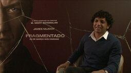 Diretor M. Night Shyamalan vem ao Brasil para lançar seu novo suspense, Fragmentado