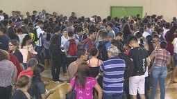 População lota unidade do Ifro de Porto Velho em busca de vagas