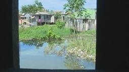 Aumento do nível do rio Madeira preocupa moradores do bairro São Sebastião, em Porto Velho