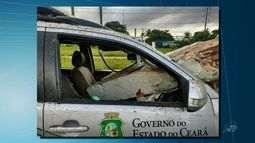 Policial fica ferido após perseguição no Maracanaú
