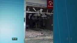 Banco é alvo de explosão na Zona da Mata de Pernambuco
