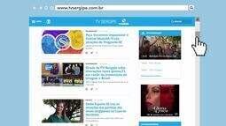 A TV Sergipe também está na internet; conheça o site oficial da emissora!