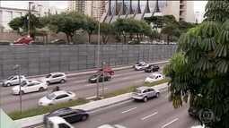 Começa oficialmente a instalação do 'corredor verde' na Avenida 23 de Maio