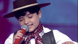 The Voice Kids: Thomas Machado está na final; dia 2 de abril