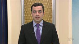 Correção: candidato a prefeito de Nova Laranjeiras, Altamiro Braga é do PMDB, e não do PT