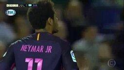 Neymar completa 100 gols pelo Barcelona